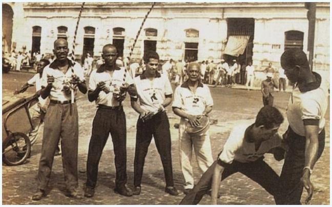 Capoeira az utcán, 1940 körül